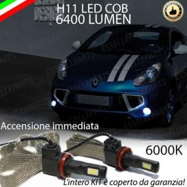KitFull LEDFendinebbia H11 6400 LUMENRENAULTWIND