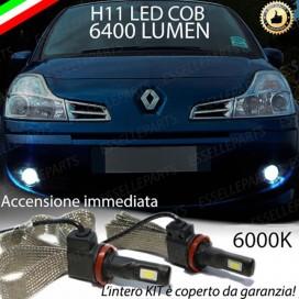 KitFull LEDFendinebbia H11 6400 LUMENRENAULTMODUS