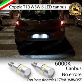 Luci targa 6 LED Canbus 400 Lumen