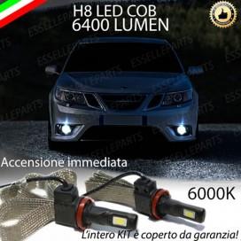 KitFull LED H8 6400 LUMEN FendinebbiaSAAB9-3 II