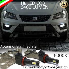 KitFull LED H8 6400 LUMEN FendinebbiaSEATATECA