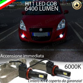 KitFull LEDFendinebbia H11 6400 LUMENSUZUKISPLASH