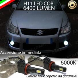 KitFull LEDFendinebbia H11 6400 LUMENSUZUKISX4