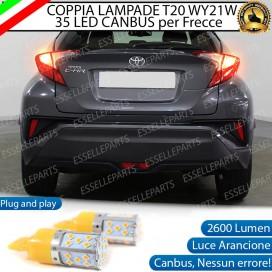 Coppia Frecce Posteriori T20 WY21W 35 LED Canbus Toyota C-HR