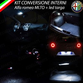 Led interni completo + targa mito led