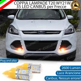 Coppia Frecce Anteriori T20 WY21W 35 LED Canbus Ford Kuga 2