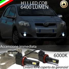 KitFull LEDFendinebbia H11 6400 LUMENTOYOTAAURIS I