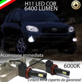 KitFull LEDFendinebbia H11 6400 LUMENTOYOTARAV 4 III
