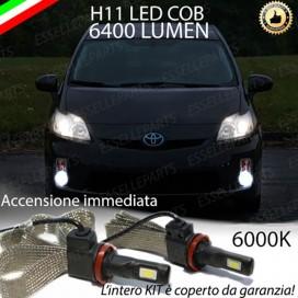 KitFull LEDFendinebbia H11 6400 LUMENTOYOTAPRIUS