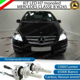 Kit Full LED H7 Monoled 12000 LUMEN MERCEDES CLASSE B W245