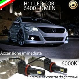 KitFull LEDFendinebbia H11 6400 LUMENVWPASSAT CC
