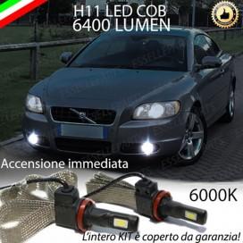 KitFull LEDFendinebbia H11 6400 LUMENVOLVOC70 II