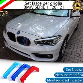 - CALANDRA 11 LINEE VERTICALI - Set Cover M Sport SERIE 1 F20 F21