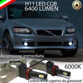 KitFull LEDFendinebbia H11 6400 LUMENVOLVOS40 II