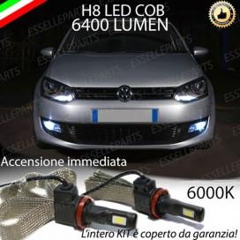 KitFull LED H8 6400 LUMEN FendinebbiaVWPOLO 6R/6C