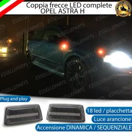 Placchette Dinamiche Laterali a 18 led per frecce specifiche per Opel Astra H