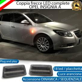 Placchette Dinamiche Laterali a 18 led per frecce specifiche per Opel Insignia
