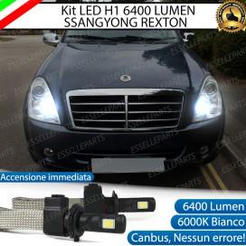KitFull LED H1 Abbaglianti 6400 LUMENSSANGYONG REXTON