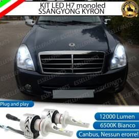 Kit Full LED H7 Monoled 12000 LUMEN SSANGYONG REXTON