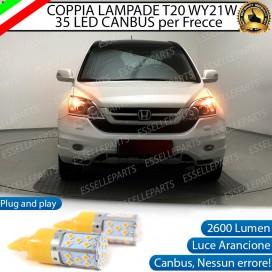 Coppia Frecce Anteriori T20 WY21W 35 LED Canbus HONDA CR-V III