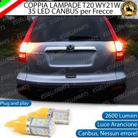 Coppia Frecce Posteriori T20 WY21W 35 LED Canbus HONDA CR-V III