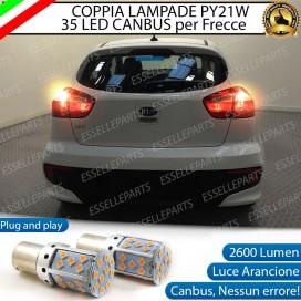 Coppia Frecce Posteriori PY21W 35 LED Canbus KIA Rio 3
