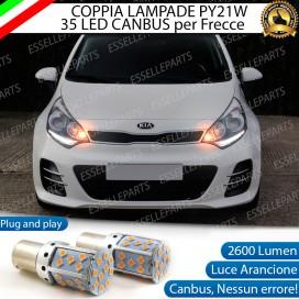Coppia Frecce Anteriori PY21W 35 LED Canbus Kia Rio 3