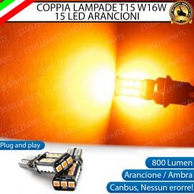Coppia Frecce T15 W16W 15 LED Canbus
