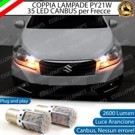 Coppia Frecce Anteriori PY21W 35 LED Canbus Suzuki SX4 S-Cross