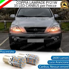 Coppia Frecce Anteriori PY21W 35 LED Canbus Kia Sorento 1