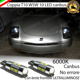 Luci posizione T10 W5W 10 LED Canbus Fiat Barchetta