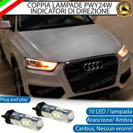 Coppia Frecce Anteriori PWY24W 10 LED Canbus AUDI Q3