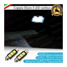 Luci Targa 3 LED Canbus 6000K per Seat Ibiza (6L)