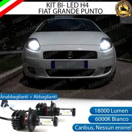 Kit Full LED H4 18000 LUMEN Anabbaglianti/Abbaglianti FIAT GRANDE PUNTO