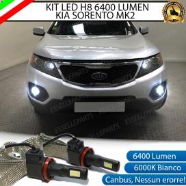 KitFull LED H8 6400 LUMEN FendinebbiaKIASORENTO II