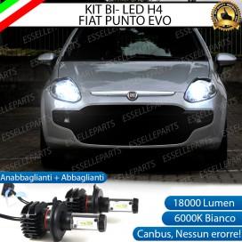 Kit Full LED H4 18000 LUMEN Anabbaglianti/Abbaglianti FIAT PUNTO EVO