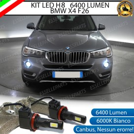 KitFull LED H8 6400 LUMEN FendinebbiaBMW X4 F26