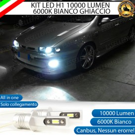 KitFull LEDFendinebbia H1 10000 LUMENFIATMAREA