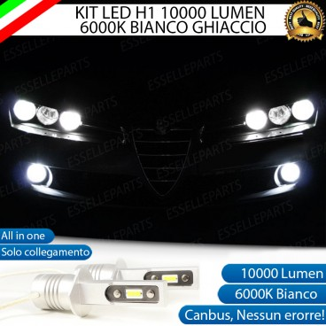 Kit Full LED Fendinebbia H1 10000 LUMEN ALFA ROMEO BRERA