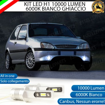 Kit Full LED Fendinebbia H1 10000 LUMEN FORD FIESTA IV