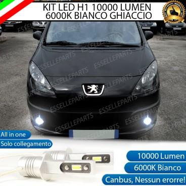 KitFull LEDFendinebbia H1 10000 LUMENPEUGEOT 1007