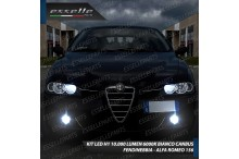 Kit Full LED Fendinebbia H1 10000 LUMEN ALFA ROMEO 156