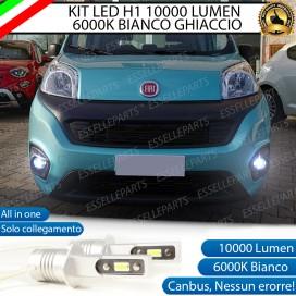 KitFull LEDFendinebbia H1 10000 LUMENFIATQUBO