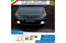 Kit Full LED Fendinebbia H1 10000 LUMEN PEUGEOT 607