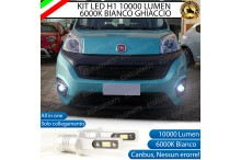 KitFull LEDFendinebbia H1 10000 LUMENFIAT FIORINO