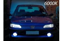 KitFull LEDFendinebbia H1 10000 LUMENPEUGEOT306