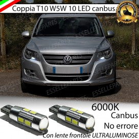 Luci posizione T10 W5W 10 LED Canbus Volkswagen Tiguan I