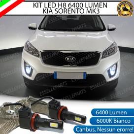 KitFull LED H8 6400 LUMEN FendinebbiaKIASORENTO III