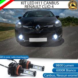 KitFull LEDFendinebbia H11 9800 LUMEN perRENAULT CLIO IV