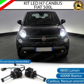 Kit Full LED H7 9800 LUMEN Anabbaglianti FIAT 500L